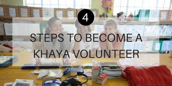 4 Steps to become a volunteer with Khaya